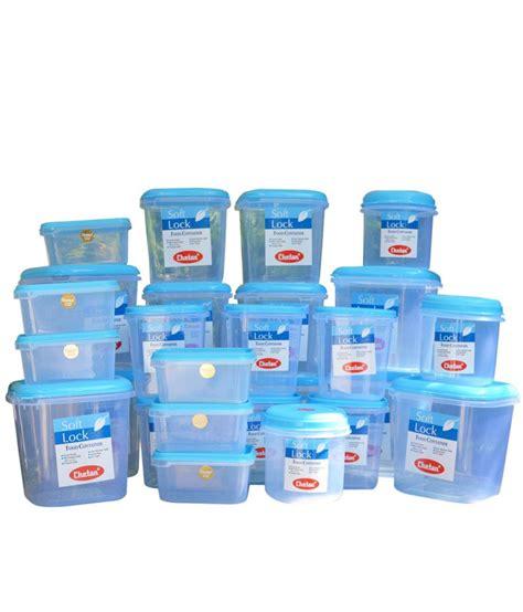 chetan plastic kitchen storage containers airtight  pc