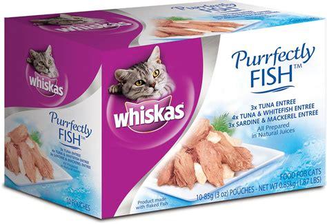 sardine cuisine whiskas purrfectly fish pouches with tuna sardines
