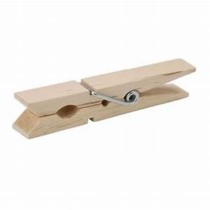 Everbilt Wood Clothespins (50-Pack)-14149 - The Home Depot