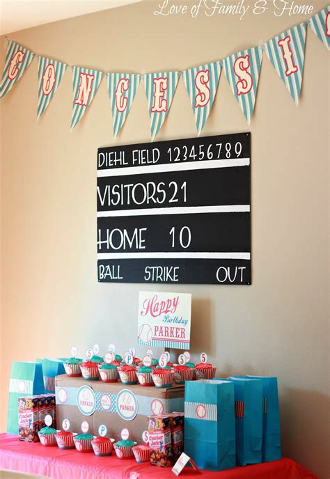 diy scoreboard tutorialbaseball birthday love