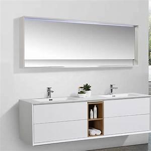 Meuble Salle De Bain 30 Cm : meuble salle de bain sublima en 190 cm de longueur ~ Melissatoandfro.com Idées de Décoration