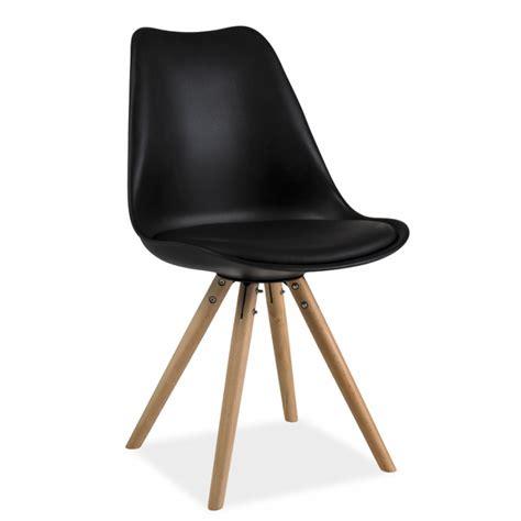 canapé simili cuir blanc chaise scandinave dsw design eames 4 pieds bois blanc