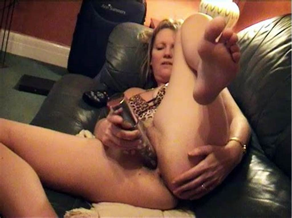 #Horny #Mother #Masturbating #On #Couch