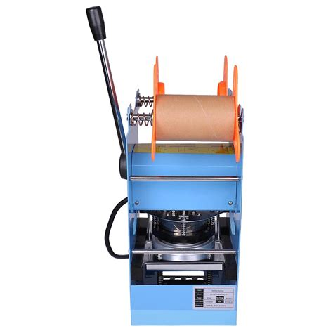 manual electric semi automatic cup sealer sealing machine coffee boba bubble ebay