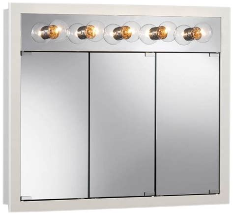 Broan Nutone Lighted Medicine Cabinet by Broan Nutone 755379 36 By 30 By 4 3 4 Inch Granville