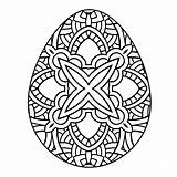 Easter Coloring Adults Egg Adult Printable Eggs Template Colouring Gazebo Blank Clipart Cracked Templates Popular Gcssi Library sketch template