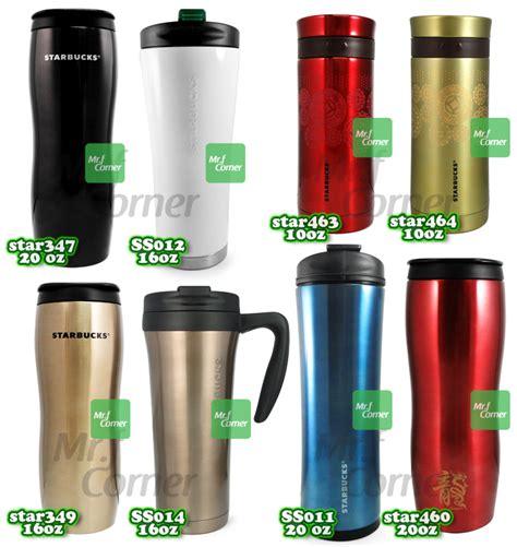 m002 starbucks stainless steel travel mug logo tumbler