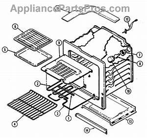 Parts For Magic Chef 9895xrb  Oven Parts