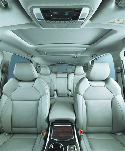 2015 Acura Mdx Captains Chairs by Versatile Acura Mdx Crossover For 2016 Gets A New 9 Speed