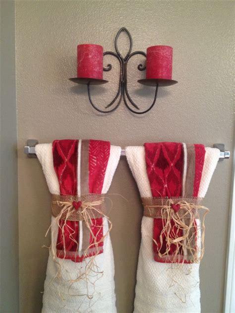 bathroom towel hanging ideas 96 best decorative towels images on fold