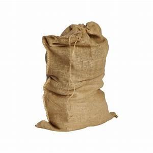 Sac Toile De Jute : sac de p re noel en toile de jute 90x60 cm ~ Dailycaller-alerts.com Idées de Décoration