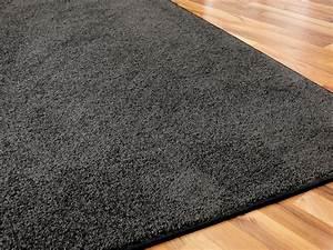 Teppich Langflor Grau : hochflor velours teppich triumph anthrazit in 24 gr en teppiche hochflor langflor teppiche ~ Orissabook.com Haus und Dekorationen