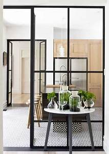 Verrière Intérieure Ikea : isoler une cuisine ouverte avec deux verri res d int rieur ~ Melissatoandfro.com Idées de Décoration