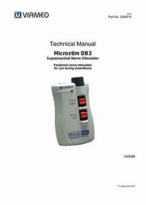 Microstim Db3 Nerve Stimulator Technical Manual V2 0 Sept