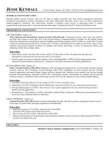resume account executive objective account manager resume objective template design