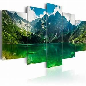 Bilder Natur Leinwand : wandbilder xxl landschaft leinwand bilder gebirge leinwandbild natur 030212 102 ebay ~ Markanthonyermac.com Haus und Dekorationen