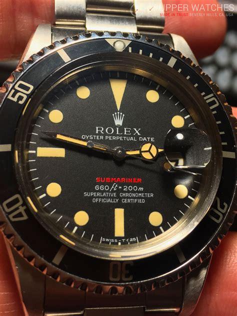 Rolex Red Submariner 1680 Circa 1972 - Upper Watches