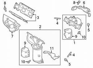 Ford Taurus Exhaust Manifold Heat Shield  Upper