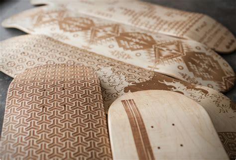magnetic kitchen laser engraved skate decks