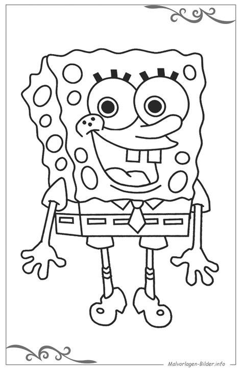 spongebob schwammkopf ausmalbilder und malvorlagen von madchen