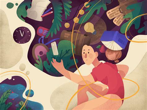 Design Psychology Illustration by tubik on Dribbble