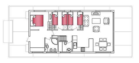 Houseboat Layout by Layout Modus Maris Catamarans