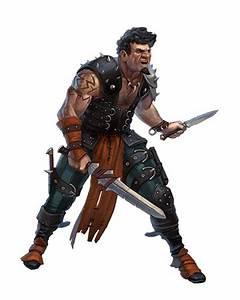 Male Human Rogue Thug - Pathfinder PFRPG DND D&D d20 ...