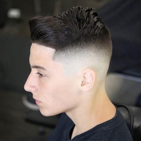 taper fade haircuts  men  guide