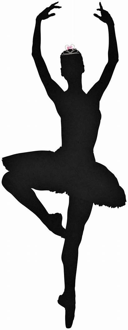 Silhouette Ballerina Dancer Nutcracker Ballet Bailarinas Dance