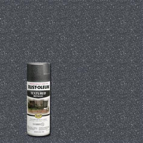 rust oleum stops rust 12 oz protective enamel excalibur metallic textured spray paint 262658