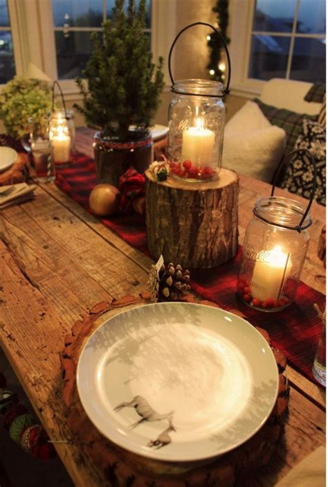 30 Adorable Indoor Rustic Christmas Décor Ideas Digsdigs
