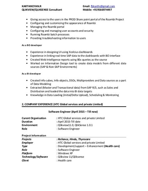 senior qlikview developer resume informatica sle resume for 3 years experience ebook database
