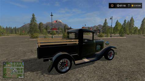 ford model  truck  fs farming simulator