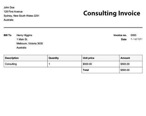invoice templates  invoices