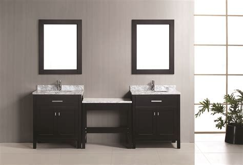 "Two London 30"" Single Sink Vanity Set in Espresso and One"