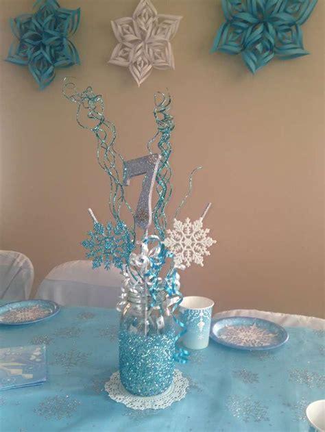 disney frozen table centerpiece frozen disney birthday party ideas disney jars and