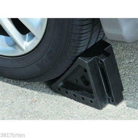 rubber wheel chocks ebay