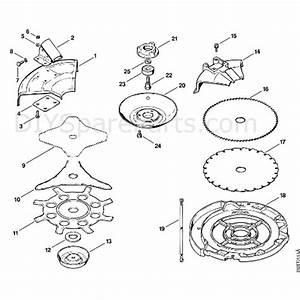 Stihl Fs 80 Brushcutter  Fs80ave 4112   Parts Diagram  J