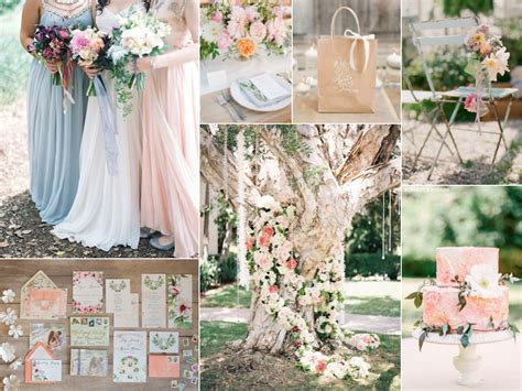 flower themed spring wedding burnett s boards wedding