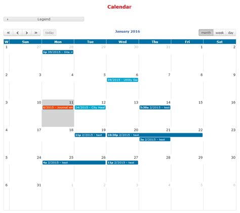view render in jquery fullcalendar trigger