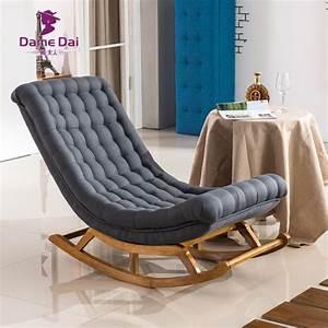 Aliexpresscom buy modern design rocking lounge chair for Fauteuil rocking chair design