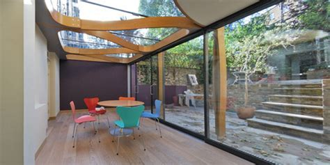 Looping Timber Extension in London   Home Extensions