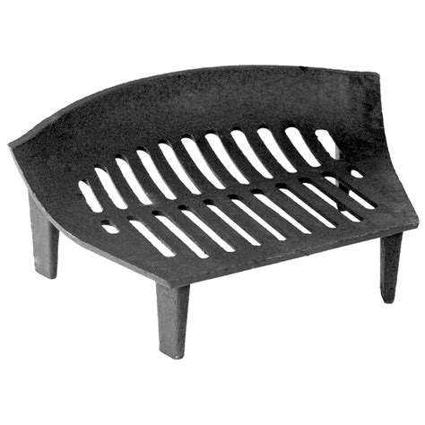 Fire Grate Cast Iron 18 14 16 Inch Solid Fuel Black