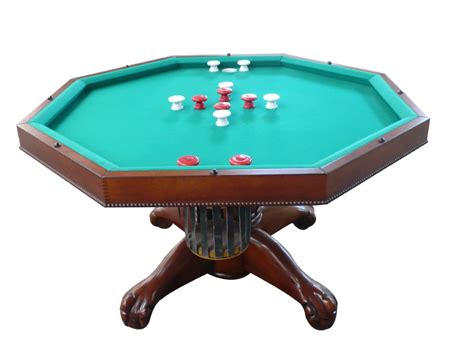 buy used bumper pool table in 1 table octagon 48quot table with slate bumper pool