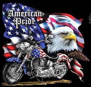 Bike Week T Shirt American Pride Tee American Pride