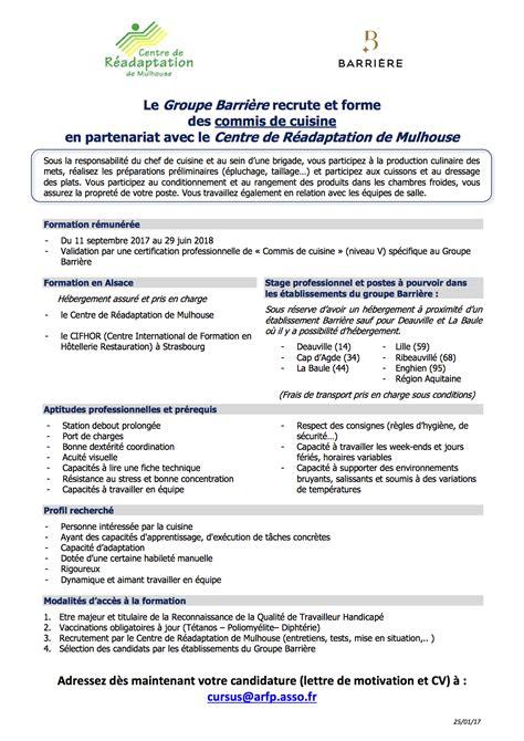 commis de cuisine definition lettre de motivation handicap mu86 montrealeast