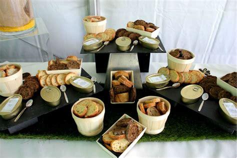 bureau des saveurs tartinables de rillettes sur rondelles de aux graines
