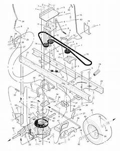 Husqvarna Riding Mower Parts Diagram