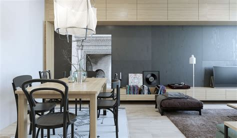 2 One-bedroom Home Apartment Designs Under 60 Square Meters (with Floor Plans)....