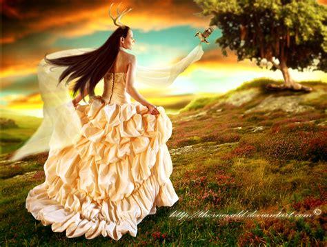 Goddess Of Nature By Thornevald On Deviantart